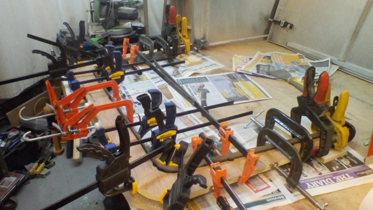 All of the clamps!